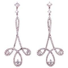 Ruchi New York Diamond Chandelier Earrings