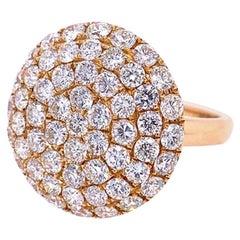 Ruchi New York Diamond Cocktail Ring