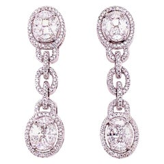 Ruchi New York Diamond Drop Earrings