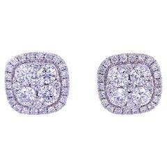 Ruchi New York Diamond Stud Earrings