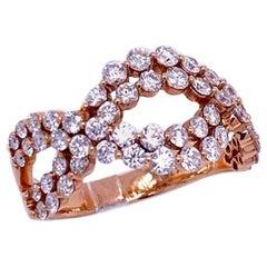 Ruchi New York Diamond Twist Ring