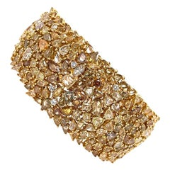 Ruchi New York Fancy Diamond Statement Bracelet
