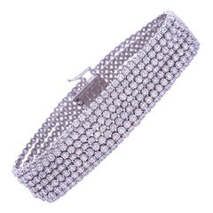 Ruchi New York Five-Strand Diamond Bracelet