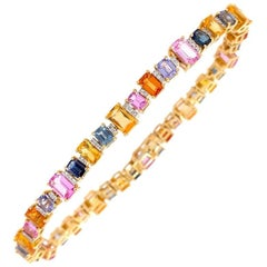 Ruchi New York Multi-Color Sapphire Bracelet