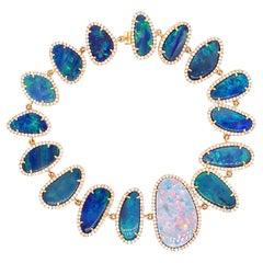 Ruchi New York Opal and Diamond Bracelet