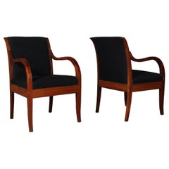 Rud Rasmussen Pair of Lounge Chairs