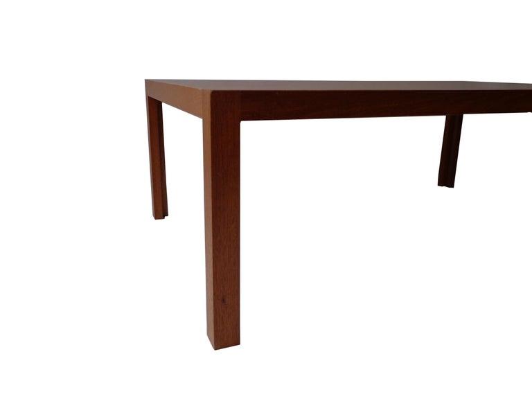 Scandinavian Modern Rud Thygesen and Johnny Sørensen Coffee-Sofa Table in Mahogany, 1970s, Danish For Sale