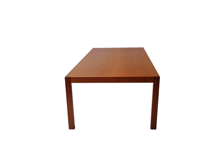 Late 20th Century Rud Thygesen and Johnny Sørensen Coffee-Sofa Table in Mahogany, 1970s, Danish For Sale