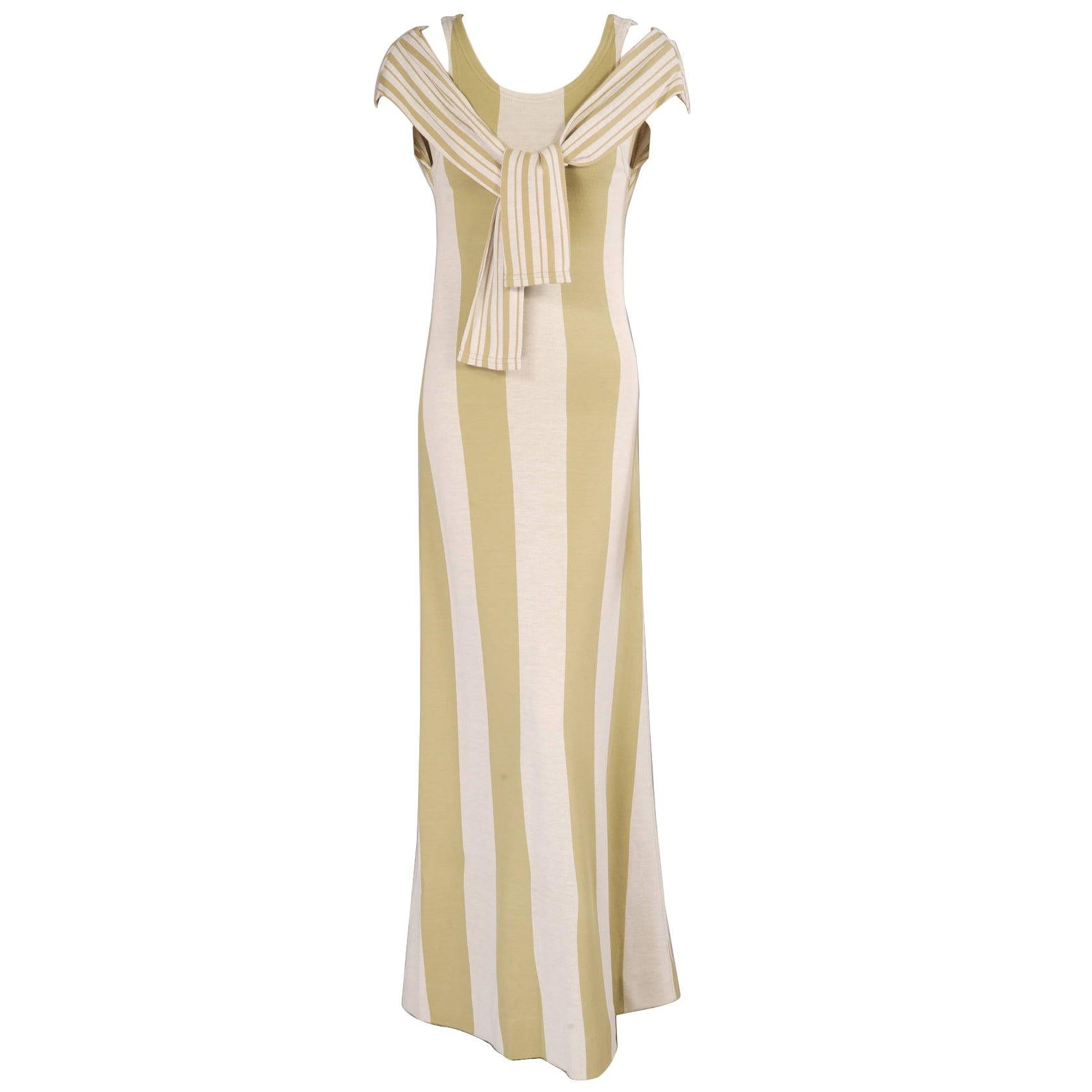 Rudi Gernreich for Harmon Knitwear Dress with Attached Trompe l' Oeil Sweater