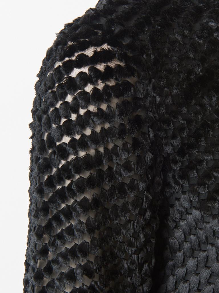 Women's Rudi Gernreich  Late 60's Cut Velvet Mini Dress For Sale