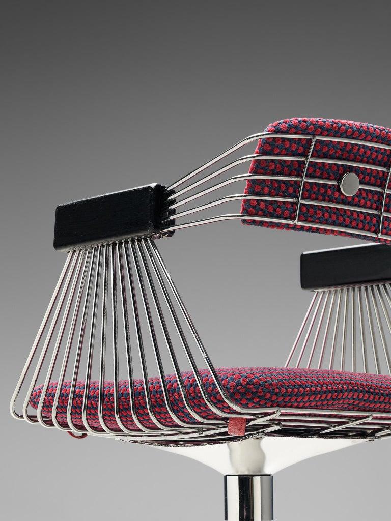 Rudi Verelst Twelve Chromed 'Delta' Chairs For Sale 2