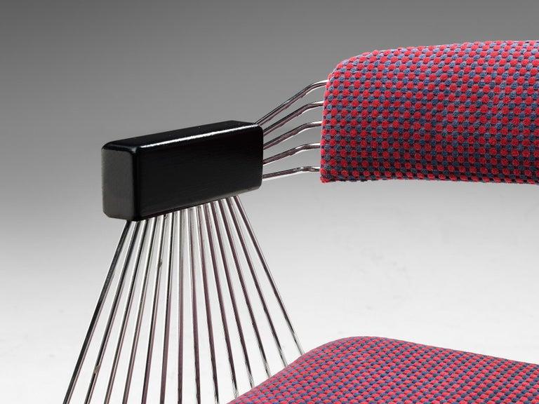 Rudi Verelst Twelve Chromed 'Delta' Chairs For Sale 4