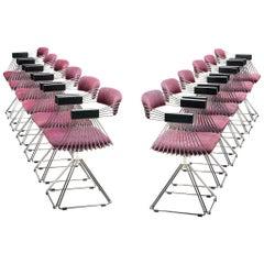 Rudi Verelst Twelve Chromed 'Delta' Chairs