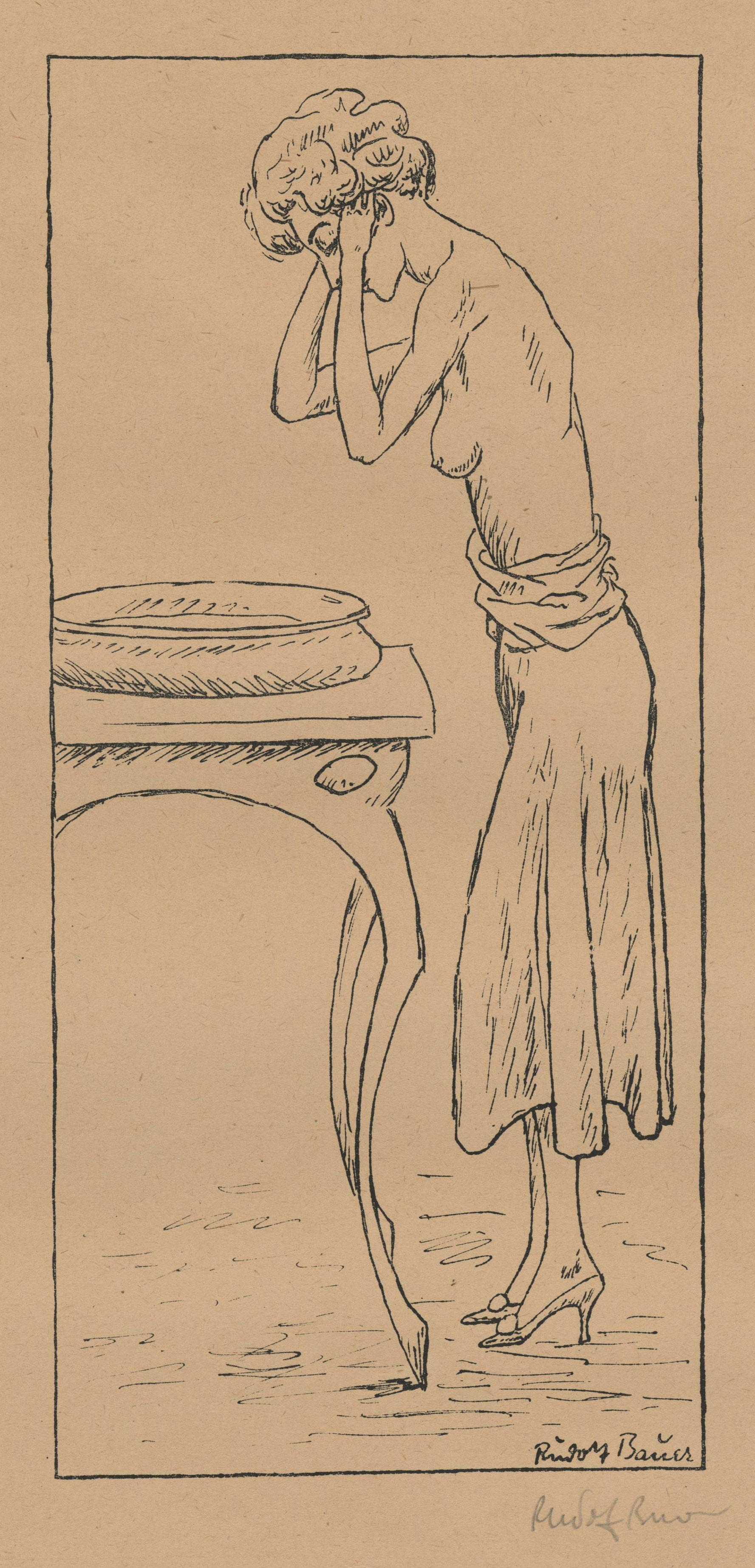 untitled (Young Woman Washing)