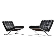 Rudolf Horn Konferstar Lounge Chairs Röhl, Germany, 1964