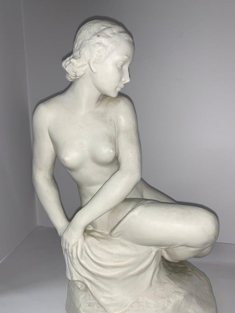 Rudolf Kaesbach Nude for Rosenthal In Good Condition For Sale In Palm Springs, CA