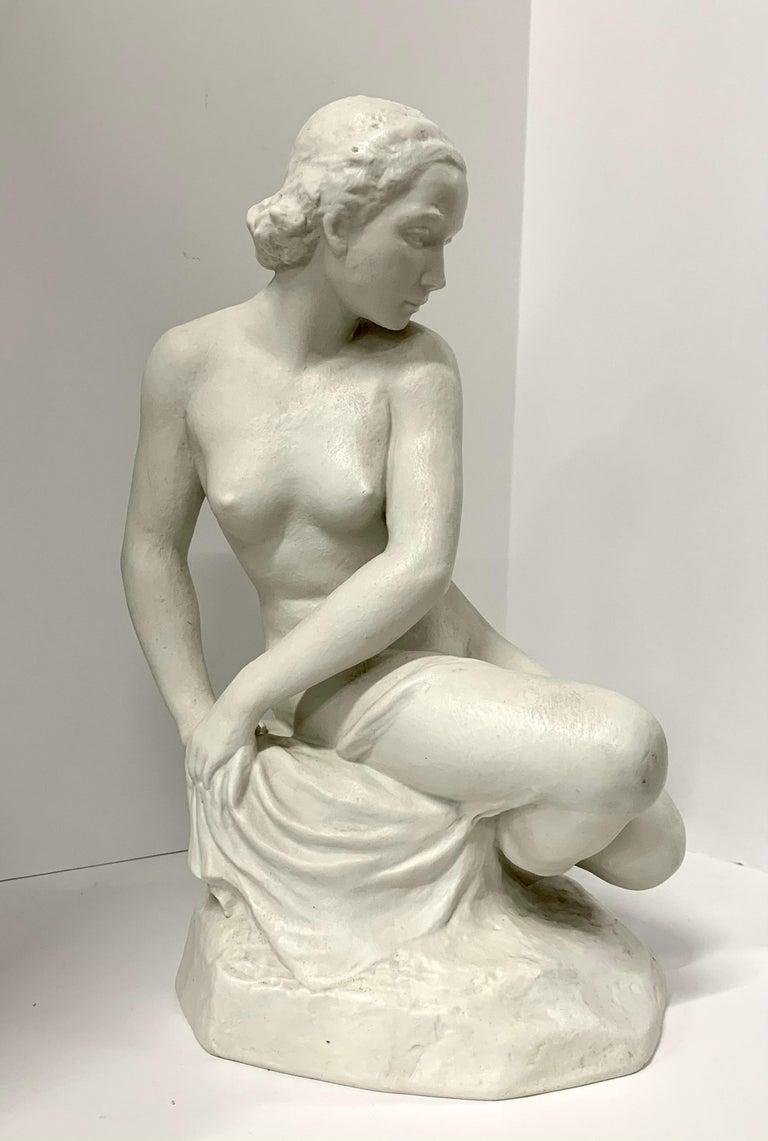 Porcelain Rudolf Kaesbach Nude for Rosenthal For Sale