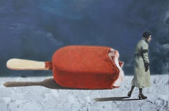 Best Piece (red popsicle indigo blue grey lady vintage earth tone nostalgia)