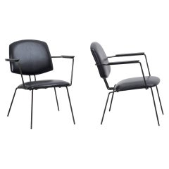 Rudolf Wolf Easy Chairs for Elsrijk
