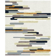 Rue Cler Hand-Knotted Wool and Silk 9 x 12ft Rug