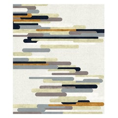 Rue Cler - Luxury Modern Hand Knotted Wool Silk Rug