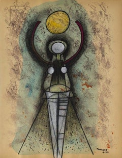 "Rufino Tamayo (1899-1991) ""Sandias"" Mixed Media"
