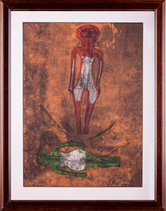 Rufino Tamayo Two Figures Dos Figuras de la Serie Sold Our Signed Limited Ed