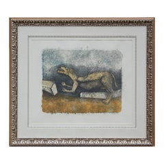 """""""Perro Herido (Wounded Dog)"""" from 90th Anniversary Suite Lithograph Ed. 22/110"""