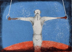 The Iron Cross (The Gymnast) - Mexican Art, Olympics, Sport