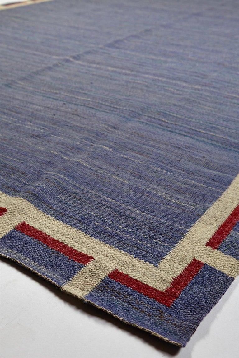 Mid-Century Modern Rug Anonymous, Sweden, 1950s