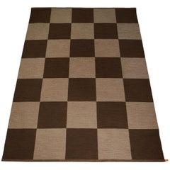 "Rug ""Arkad Checkerboard"" Designed by Gunilla Lagerhem-Ullberg, Sweden"