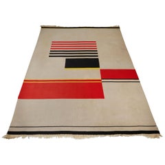 Rug, Designed by Antonin Kybal, Czech Republic, 1950s