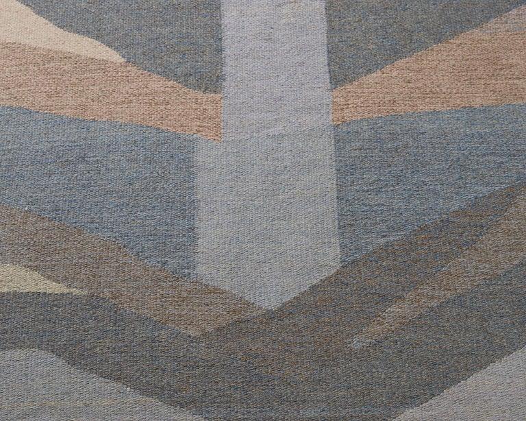Scandinavian Modern Rug Designed by Ethel Halvar Andersson, Sweden, 1960s For Sale