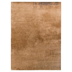 Rug & Kilim's Modern Abstract Rug in Beige Brown All Over Pattern