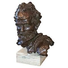 """Rugged Outdoorsman"" Bronze by Lundeen"