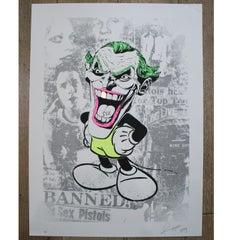 The Joker - Sex Pistols - Artists Proof