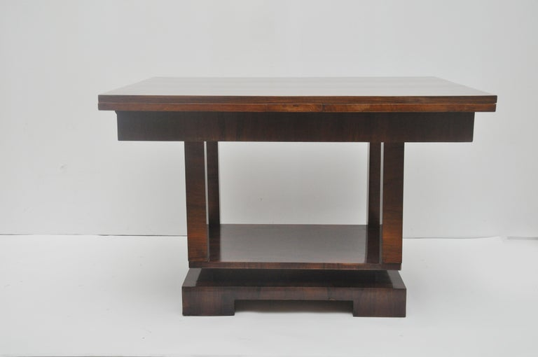 Unknown Ruhlmann Style Art Deco Extension Table For Sale