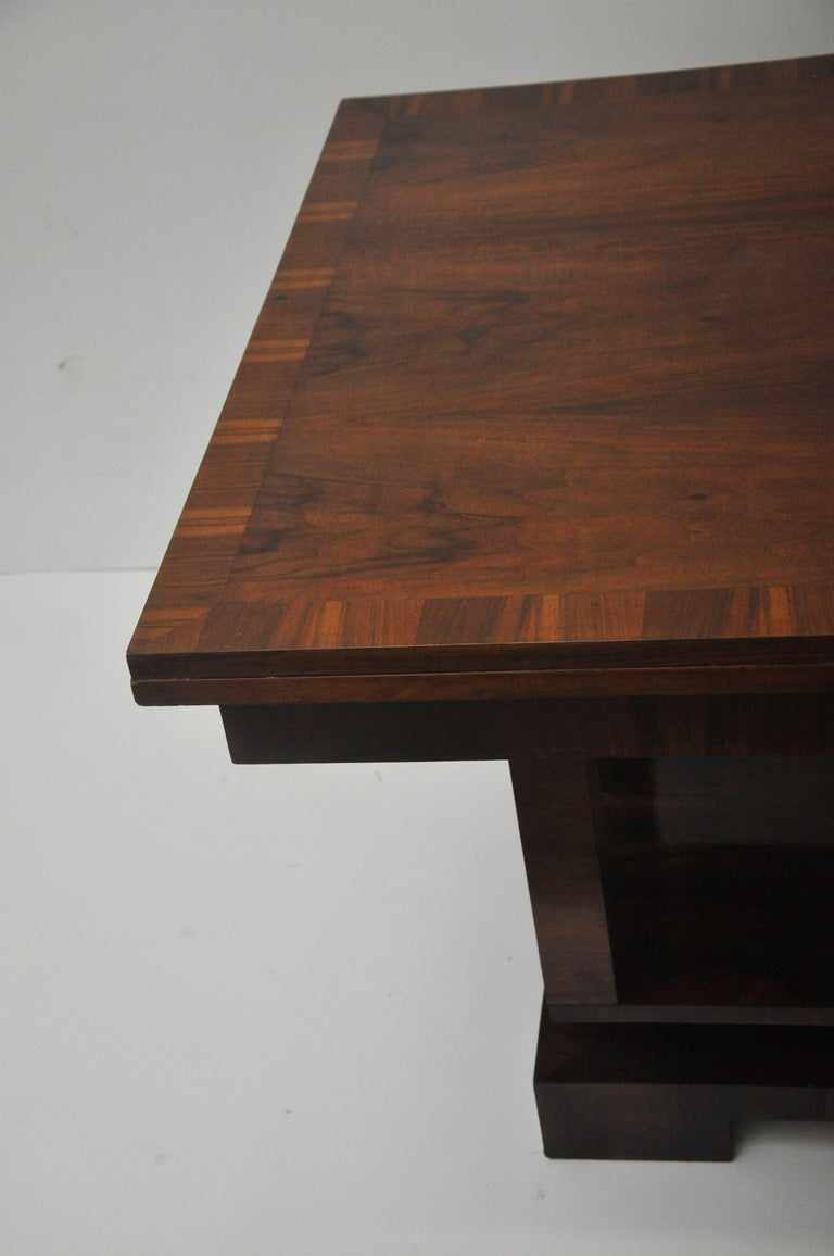 Mid-20th Century Ruhlmann Style Art Deco Extension Table For Sale