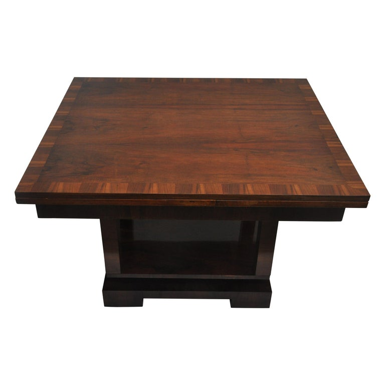 Ruhlmann Style Art Deco Extension Table For Sale