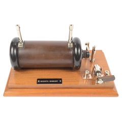 1850 Induction spool or Ruhmkorff Spool Antique Physic Measuring Instrument