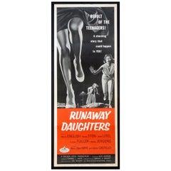Runaway Daughters '1956' Poster