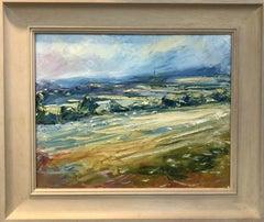 Burford From Barringtons - Rupert Aker - Original oil painting - Landscape art