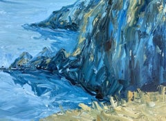 Rupert Aker, Baggy Point, Original Landscape Painting, Affordable Art