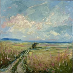 Rupert Aker, Condicote, Landscape Art, Original Painting, Affordable Art