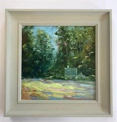 Rupert Aker, Cottage, Great Tew, Landscape Art, Affordable Art, Countryside Art