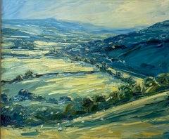 Rupert Aker, From Swift's Hill, Original Landscape Painting, Affordable Art