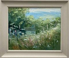 Rupert Aker, Laurie Lee's Cottage, Slad, Original landscape painting