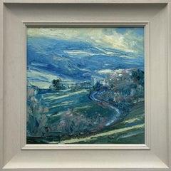 Rupert Aker, Pitchcombe, Original landscape painting