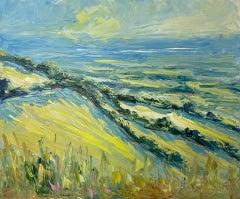 Rupert Aker, Rodborough Common, Landscape Painting Cotswolds Landscape Art