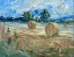 Rupert Aker, Saintbury, Original English Countryside Painting, Affordable Art